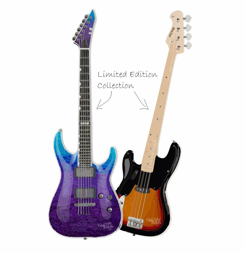 uk-nft-limited edition- collection-purple-star-guitar